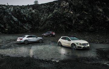 Mercedes A CLA GLA