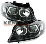 Kentra BMW E90 E91 led angel eyes koplampen set 1
