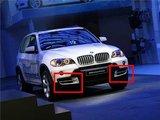 Dagrijverlichting set voor BMW X5 E70 echte DRL LED_