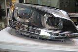VW Golf 7 VII R GTI styling LED DRL koplampen Bi-Xenon_