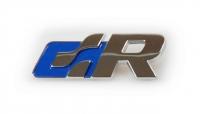 R line sticker