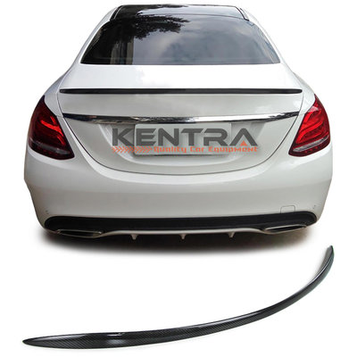 Mercedes C Classe W205 C63 AMG look Carbon koffer spoiler