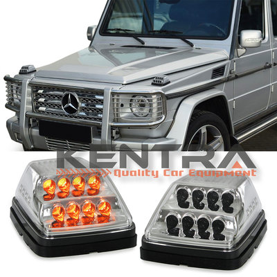 Mercedes G Classe Dynamische pinker set (chrome)