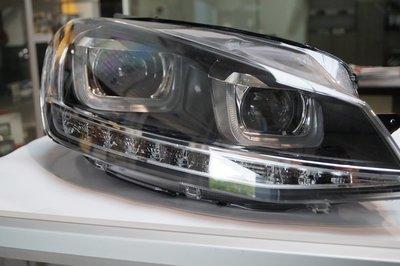 VW Golf 7 VII R GTI styling LED DRL koplampen Bi-Xenon