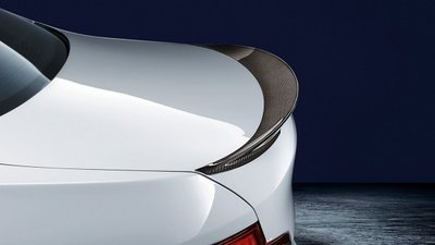BMW M Performance achterspoiler, carbon F10