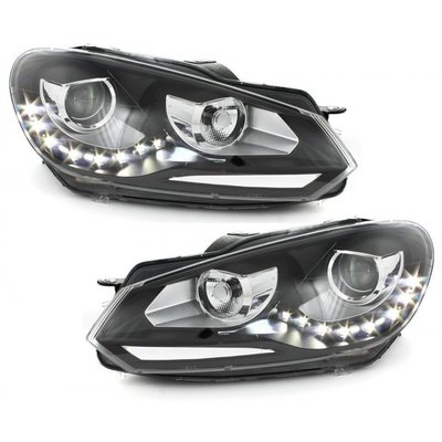 VW Golf 6 LED, Xenon Look Koplampen set