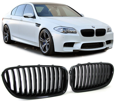 BMW F10 F11 Nw model 5 Serie Performance Styling Mat Zwarte Grill Nieren