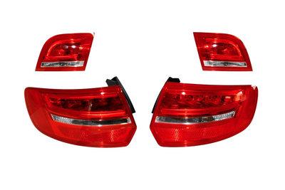 Audi A3 8P Sportback 2010 facelift LED achterlichten
