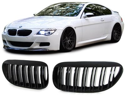 BMW E63 E64 M6 Look grill set (Glans)
