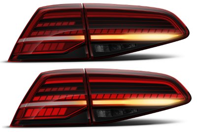 Originele Golf 7 VII facelift LED achterlichten