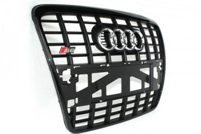 Audi S6 Grill 4F C6 zwart