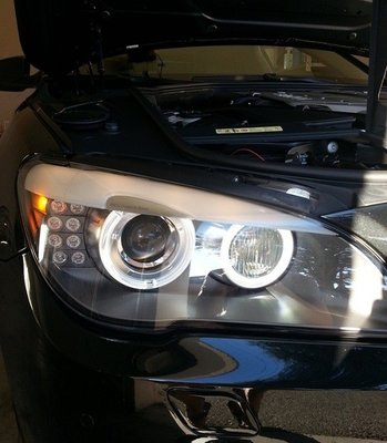 BMW LED ANGEL EYES BMW 7 serie F01