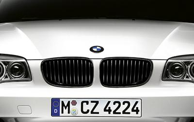 BMW E81 E87 2004-2007 Performance Styling Mat Zwarte Grill Nieren