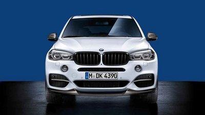 BMW X5 F15 & X6 F16  M Performance grille, zwart