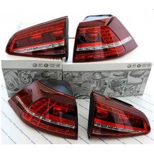 Originele Golf 7 VII GTI Kersenrode LED achterlichten