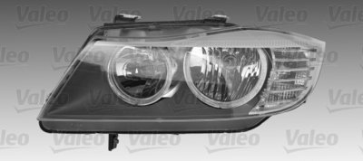 BMW E90 E91 originele komplampenset met angel eyes
