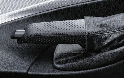 BMW M met leder beklede handremgreep