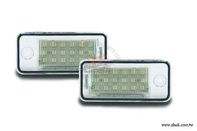 Audi led kentekenplaatverlichting