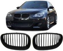 Kentra BMW E60 E61 mat zwart grill set