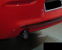 Kentra BMW 1-2-3-4 serie uitlaatsierstuk Black Chrom 18307610636