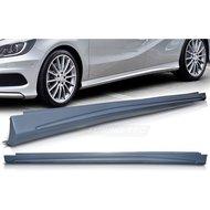 Kentra Mercedes W176 AMG Sideskirts 1