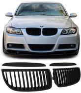 Kentra BMW E90 E91 Pre LCI mat zwarte grill set