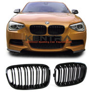 Kentra BMW F20 F21 pre LCI M look glans zwarte grill set